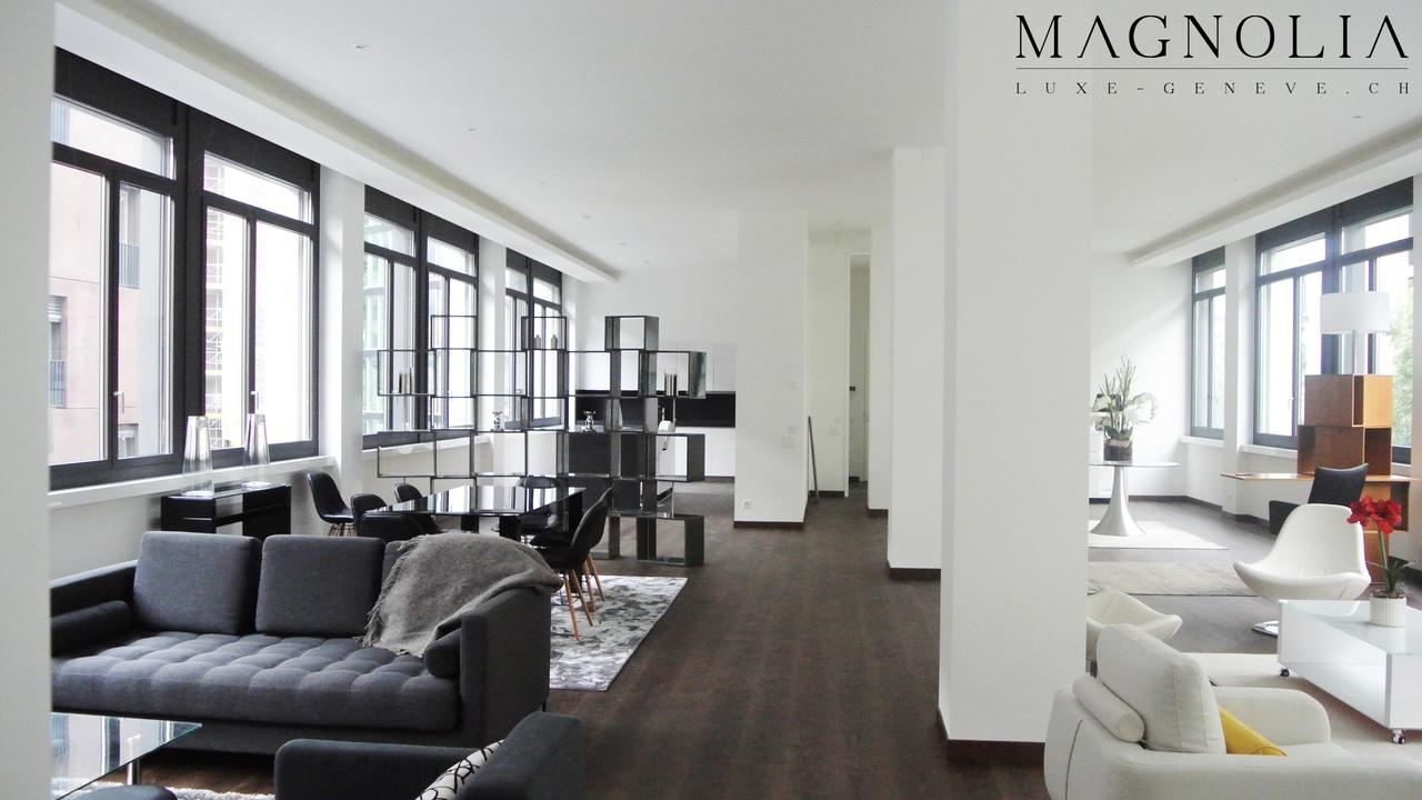 Lofts duplex et attique de luxe gen ve loft unique for Immobilier de prestige geneve